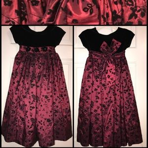 Girls Christmas Holidays Party Dress